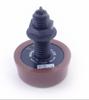 Air Button Herga Mushroom Brown - 6433-BRN