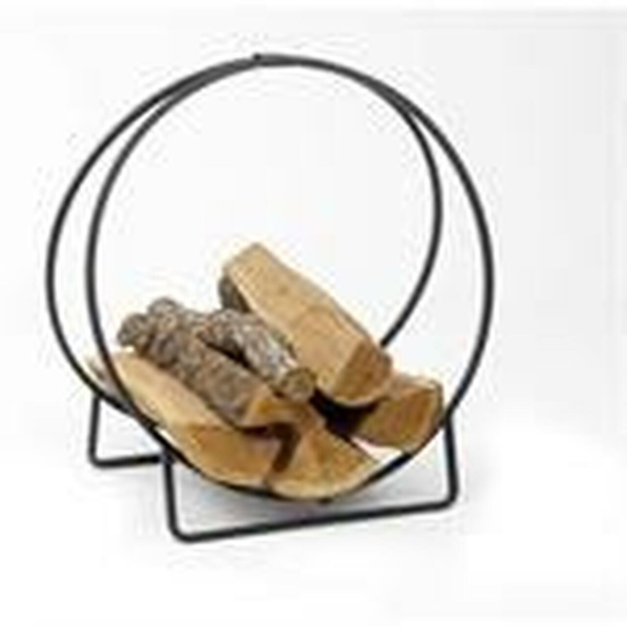 Log Hoops - Fire Log Rack