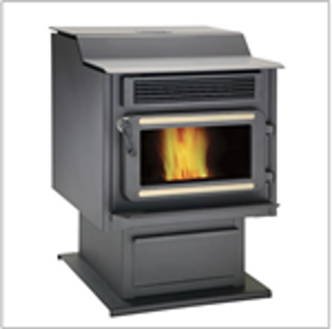 Flame Pellet Stove