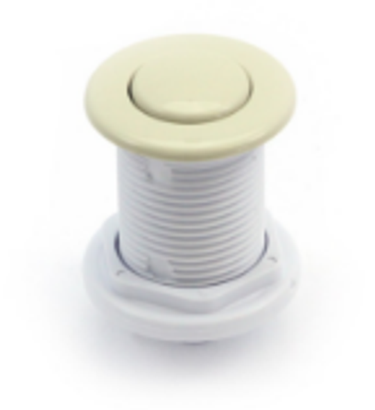 Air Button G&G Flush Mount Bone - 3070-BO