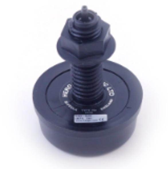 Air Button Herga Mushroom Black - 6433-AZZZ