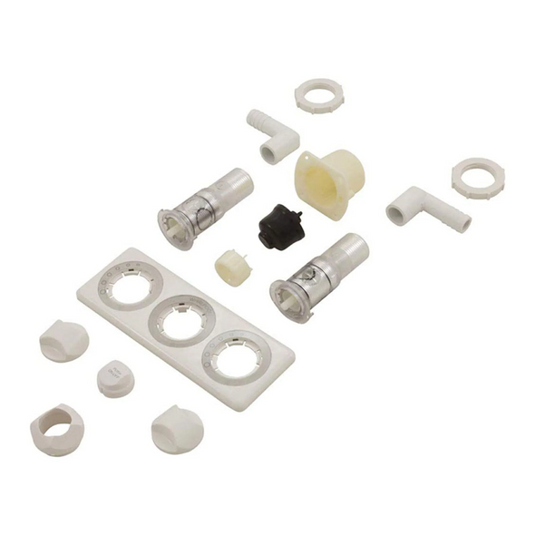 Air Button 3 Position & 2 Position (Dual Function) On-Off Jacuzzi Almond - 8246914
