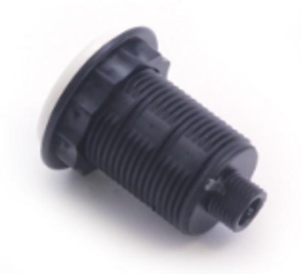 Air Button Low Profile White Tecmark - MPT-3428-WHT
