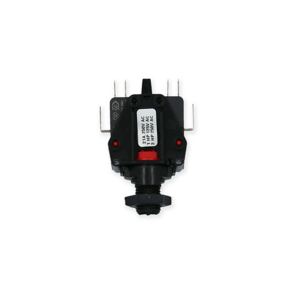 Air Switch Latching DPDT Herga - 6872ACOU10