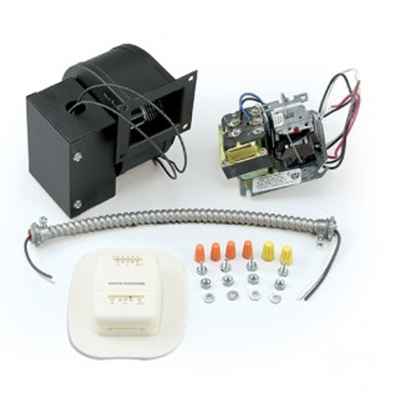 Vogelzang Draft Induction Kit with Wall Thermostat (for Norseman Series Furnaces) DK-50