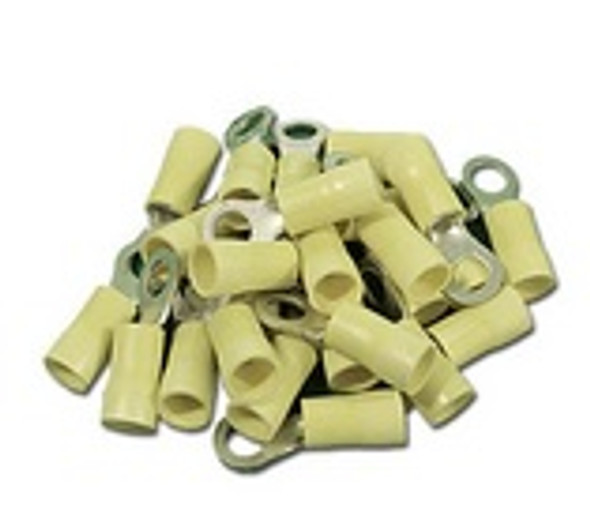 10 Gauge Yellow Terminals Wire - 1206-25