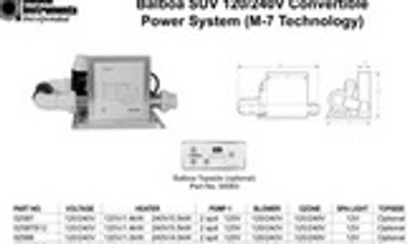 Blower Ready Balboa SUV Equipment System - 52587