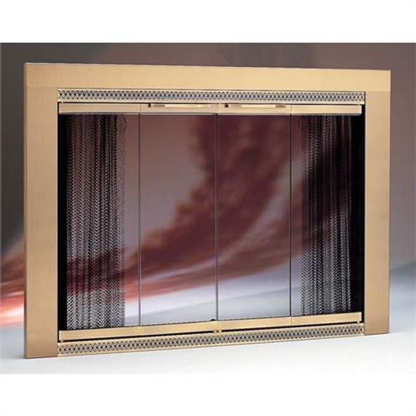 Portland Willamette Brass Glass Door - 52110