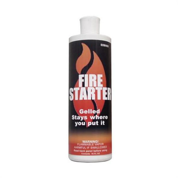 Stove Bright Gelled Fire Starter, Case Of Twelve 24oz Bottles