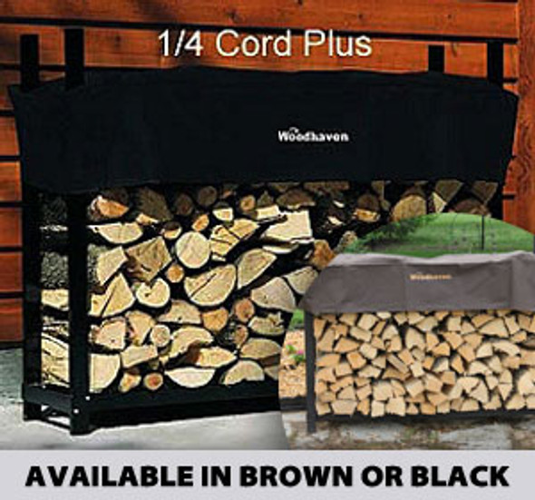 Woodhaven 1/4 Cord PLUS Firewood Rack 4ft x 5ft