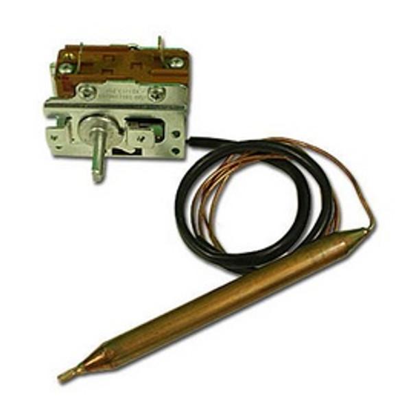 """Eaton 46"""" Capillary x 3/8"""" Bulb x 4.75"""" Bulb Length Hot Springs Thermostat - 75077"""