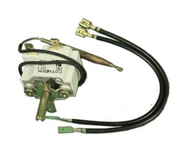 "Cother 12"" Capillary x 1/4"" Bulb x 3"" Bulb Length w/ 6"" Wire Thermostat - GTLU0025-WL"