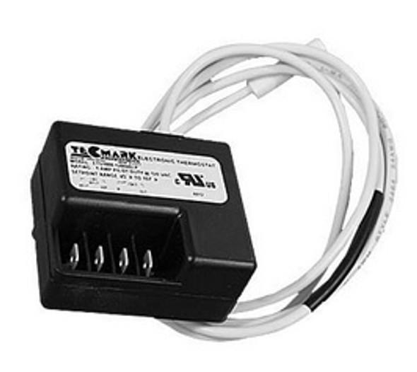 "Tecmark 48"" Cable x 5/16"" Bulb .5 Amp Pilot Duty 120V Thermostat - TS1000-12004OLP"