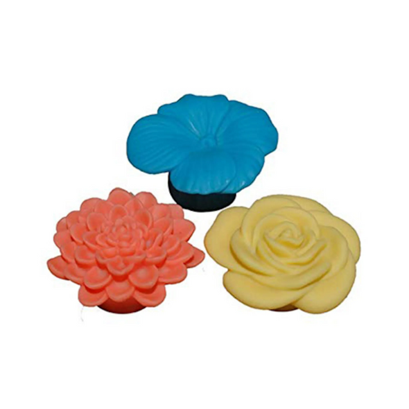 24 Assorted Game Flower LED Light  - 3574-24IN