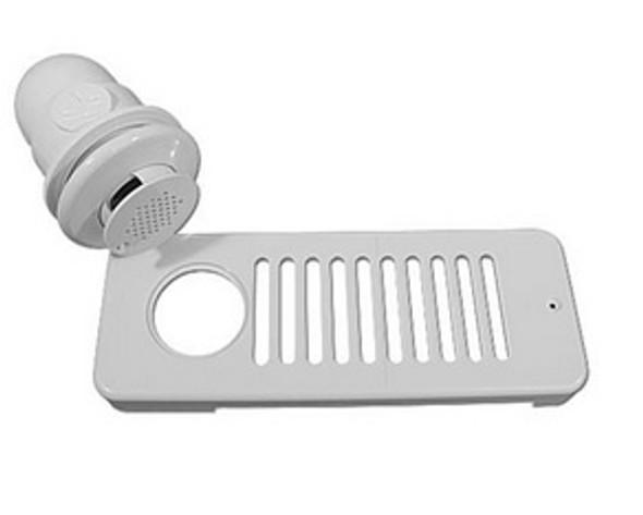 HydroAir 90 Degree White Strip Skimmer - 10-6509