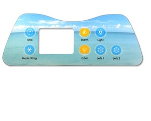 Artesian Digital Deluxe 7 Button Spaside Overlay - OP11-0035-77