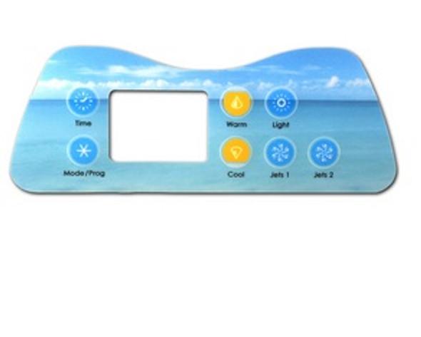 Artesian Digital Deluxe 8 Button Spaside Overlay - OP11-0036-77