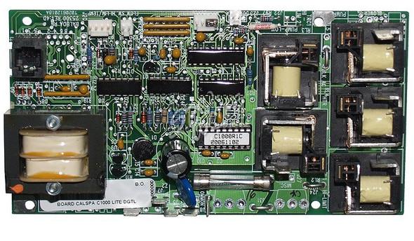 CAL SPAS C1000 PRINTED CIRCUIT BOARD - CALELE09100000