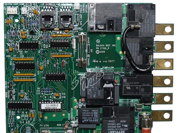 CAL SPAS C11GOR1C PRINTED CIRCUIT BOARD - CALELE09100080