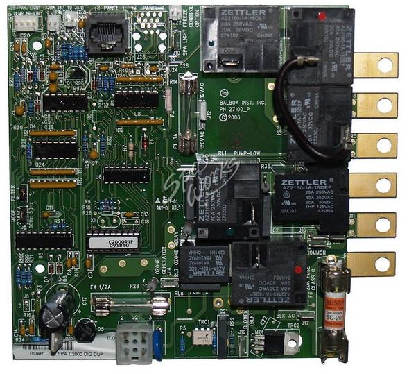 CAL SPAS C2000R1F PRINTED CIRCUIT BOARD - CALELE09100200
