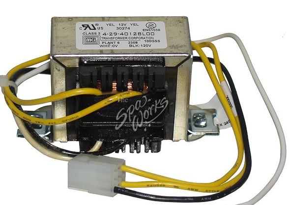 CAL SPA 120 VOLT CIRCUIT BOARD TRANSFORMER - CALELE09900440