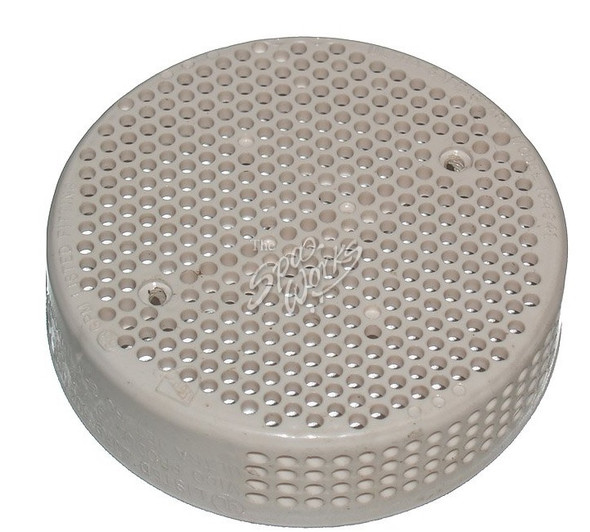 CAL SPA CREAM COLOR MAIN DRAIN COVER - CALFIX12000070