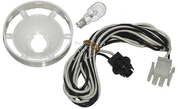 CAL SPA LIGHT BULB SOCKET WITH AMP PLUG, BULB, AND REFLECTOR - CALLIT16300020