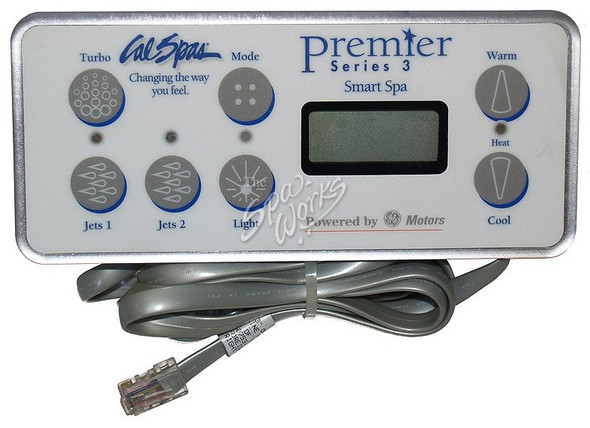 CAL SPA PREMIER SERIES 3 TOPSIDE CONTROL PANEL - CALELE09200630