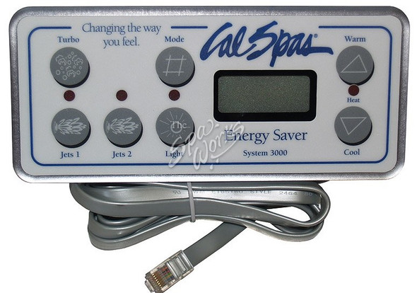 CAL SPA SYSTEM 3000 TOPSIDE CONTROL PANEL - CALELE09200620