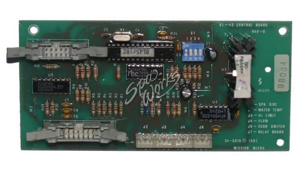 BRETT AQUALINE BL45 CONTROL CIRCUIT BOARD - BRT345019