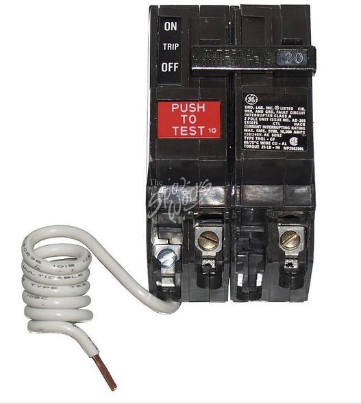 CALDERA SPA GFCI BREAKER, 20 AMP, 240 VOLT - WAT70241