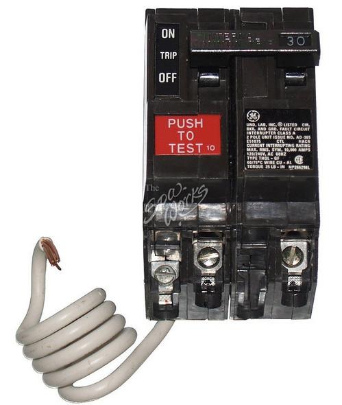 CALDERA SPA GFCI BREAKER, 30 AMP, 240 VOLT - WAT70240