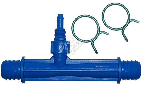 CALDERA SPA OZONE INJECTOR, 3/4 INCH BARB, BLUE - WAT74089