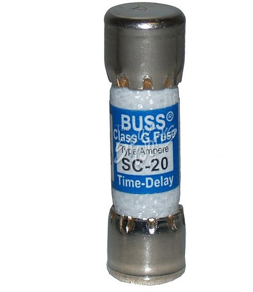 20 AMP SLO-BLO REPLACEMENT FUSE, LARGE STYLE - BUSSSC20