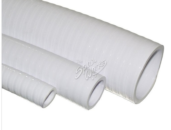 2 INCH WHITE PVC FLEX PIPE - 100646