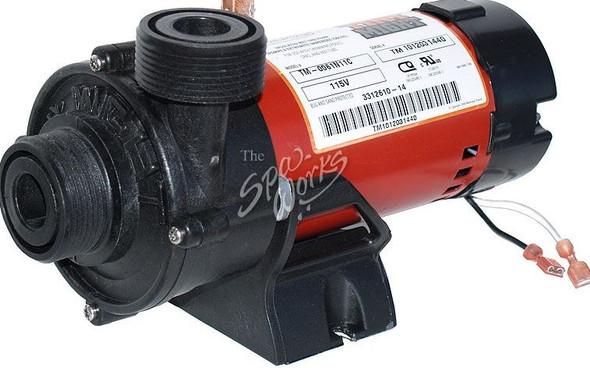 CALDERA SPA CIRCULATION PUMP, 1/16 HP, 110 VOLT, TINY MITE - WAT009061