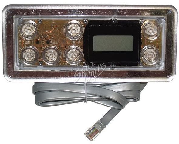 CALDERA SPA TOPSIDE CONTROL PANEL, 9800 STANDARD - WAT72101