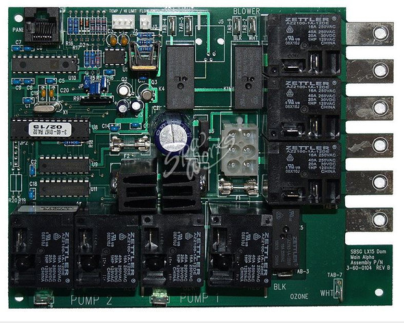 DIMENSION ONE CIRCUIT BOARD, SPA BUILDERS, AFS LX 15 PWA EXT - SPECIAL ORDER - DIM01710-133