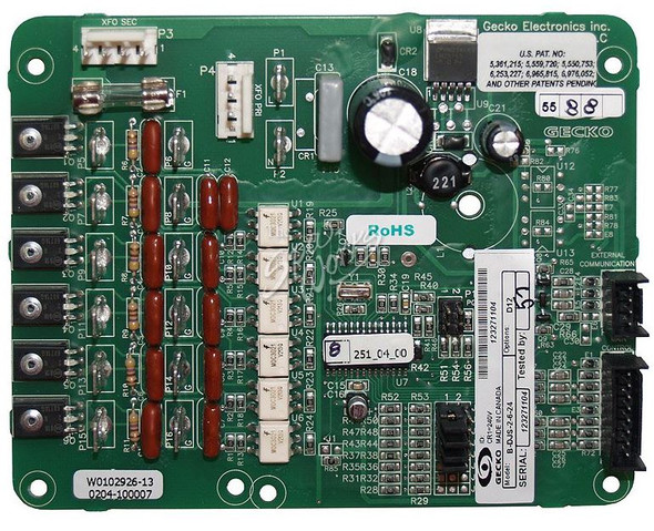 DIMENSION ONE MASSAGE SEQUENCER PC BOARD (SPECIAL ORDER ONLY) -  DIM01710-1200
