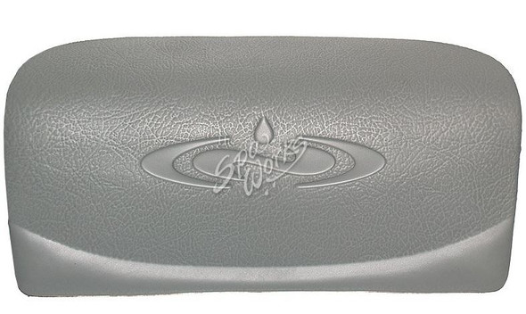 DIMENSION ONE CURVED PILLOW, SILVER LOGO - DIM01510-420
