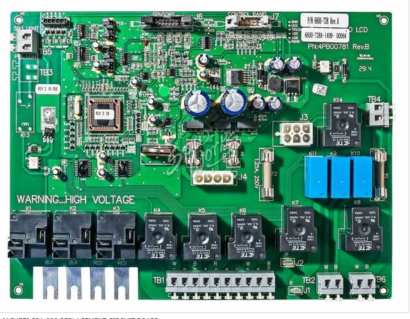 JACUZZI SPA 880 REPLACEMENT CIRCUIT BOARD. - JAC6600-728