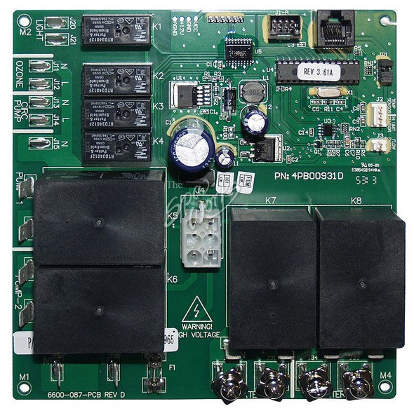 JACUZZI SPA REPLACEMENT CIRCUIT BOARD FOR 6600-288 - JAC6600-726