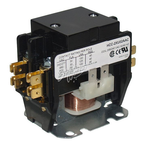 JACUZZI SPA 240 VOLT CONTACTOR, ALL J-385 MODELS, 5/2006+ - JAC6000-505