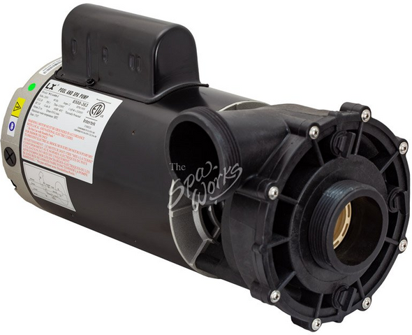 JACUZZI LX SPA PUMP, 2.5 HP, 240 VOLT, 1 SPEED, 56 FRAME  - JAC6500-363