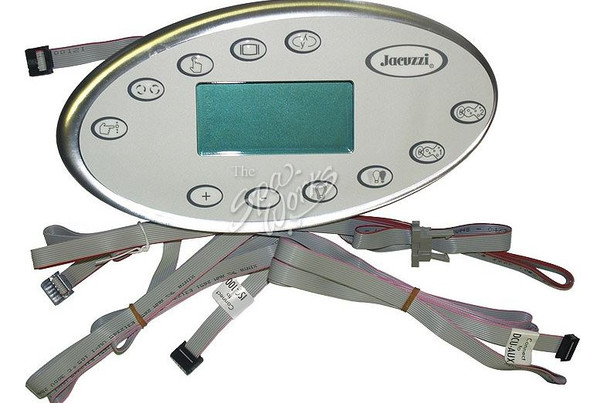 JACUZZI SPA J-400 LCD SERIES TOPSIDE CONTROL PANEL, 2006-2009 - JAC20318-001