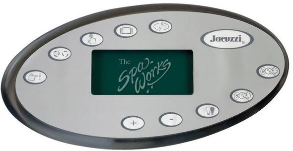 JACUZZI SPA TOPSIDE CONTROL PANEL, J-300 LCD 2002+ - JAC2600-323
