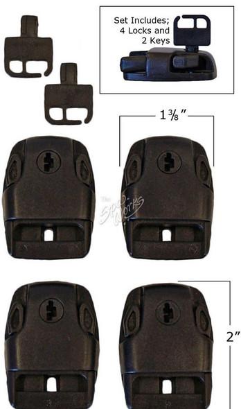 MARQUIS SPA COVER LOCKS, SET OF 4 - MRQ990-6336