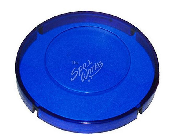 MARQUIS SPA LIGHT LENS COVER, BLUE - MRQ740-0059