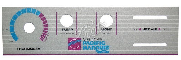 MARQUIS SPA 1 AND 2 TOPSIDE PANEL OVERLAY - MRQ650-0012
