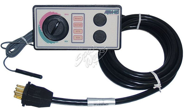 MARQUIS SPA AQUA SET CONTROL PANEL HEAD 2 BUTTON - MRQ650-0800